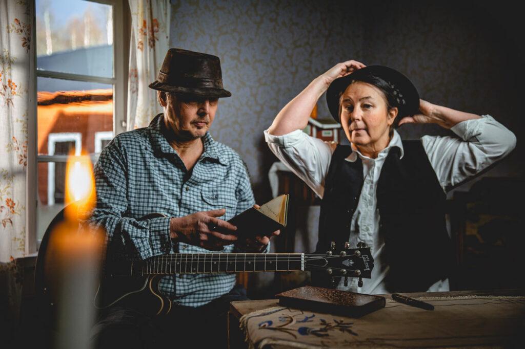 Pajso i Gamla Stugan, Mats Himmelstrand och Maria Norgren
